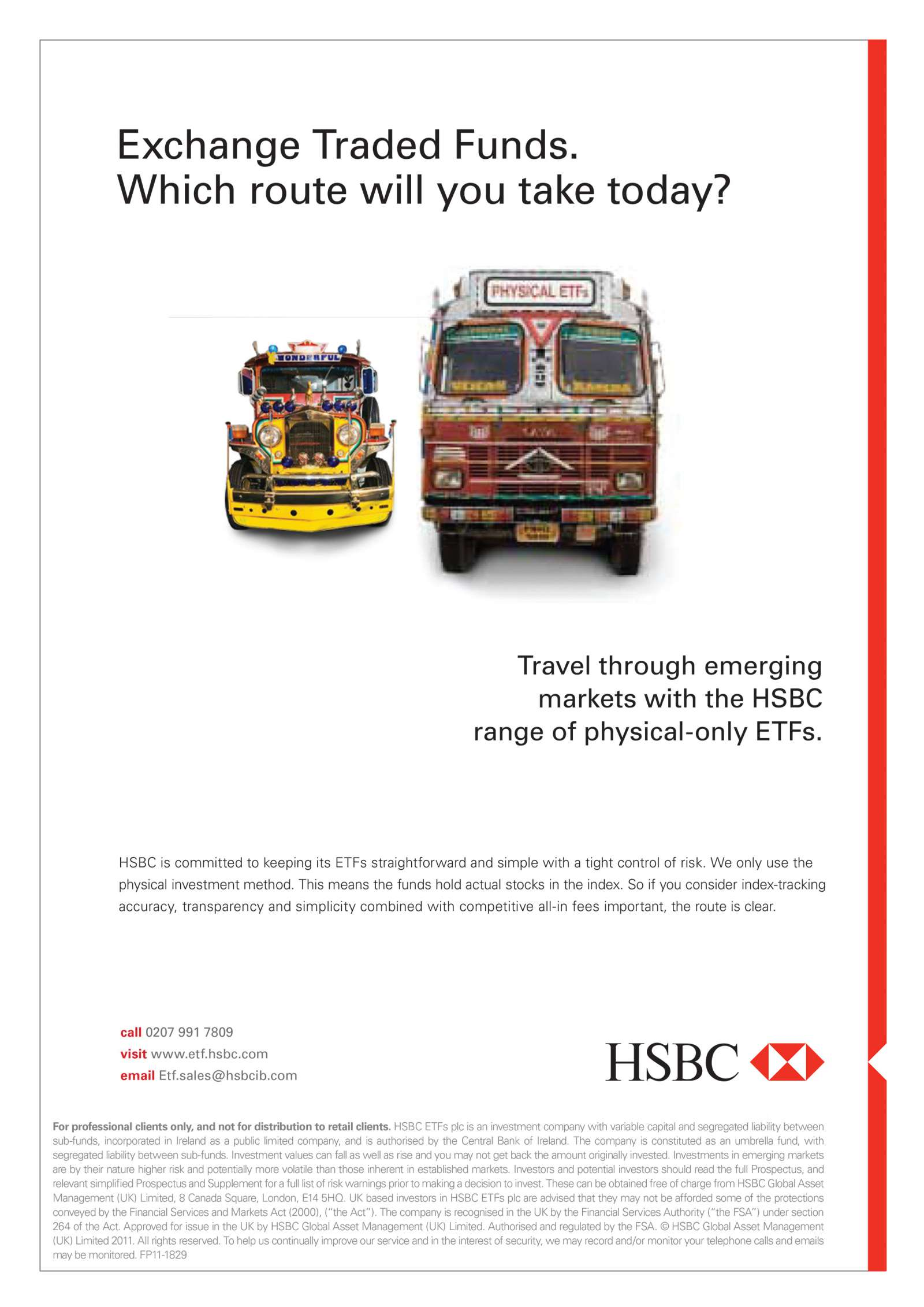 HSBC Global Asset Management | Spooner Creative